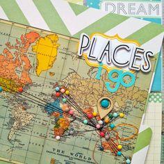 Scrapbook Tendance: Petites infos!+ Un project life pour nos vacances ... pourquoi pas!!!