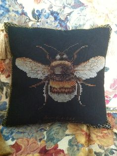 Bumblebee counted cross stitch 2012