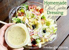 Homemade Olive Garden Salad