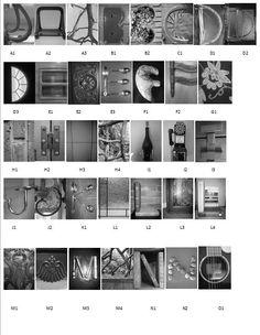 Alphabet Letter Photo Art