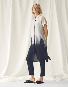 Jasarah Duster and Stanton Pant | Lafayette 148 New York