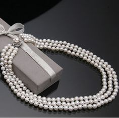 6-7 mm Fresh Water Pearl Necklace  Jewelry