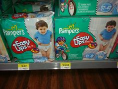 Pampers Easy Ups Just $6.97 At Walmart!