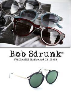 """Bob Sdrunk su OcchialiGraduati.com """"Spedizione Gratuita  Fatti a mano in Italia, conservano peró un tocco British. Il modello Bob Sdrunk Mark, sono occhiali dall'aria vintage senza perdere peró lo stile moderno.  #bobsdrunk #shopping #style #ss2014 #summer #fashion #glassesonline #glasses  http://bit.ly/1jsnTb2"""