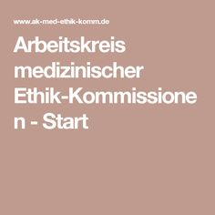 arbeitskreis medizinischer ethikkommissionen