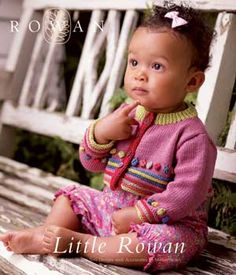 3. Favorite summer knitting pattern: Little Rowan's Miss Muffet, perfect for my sister's first grandchild's first birthday in Southern California, substituting Shine Sport.