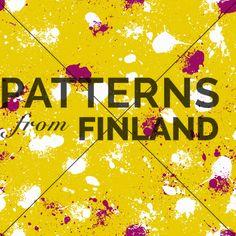 Ripaus by Tiina Taivainen   #patternsfromfinland #tiinataivainen #patterns #finnishdesign