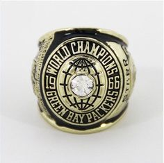Green Bay Packers 1966 Super Bowl Ring Championship Ring