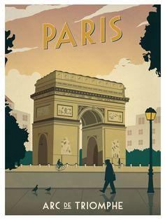 Frankreich / France - Paris - Triumphbogen / Arc de Triomphe