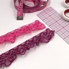 1 25mm Crochet Style Stretch Trim Decorative Elastic   Etsy Crochet Lace, Crochet Style, White Plum, Lace Ruffle, Crochet Fashion, Tricot Fabric, Stretch Lace, Yards, Fasteners
