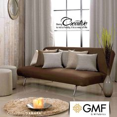 Be creative and give your #Home an aesthetic look by indulging with our new collection. Explore more on - www.gmfabrics.com #SplendourDecor #GMF #GMFabrics #Furnishings #FineFabric #Creativityisawayoflife