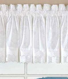 Window Toppers Layered Eyelet Valance - Country Curtains®