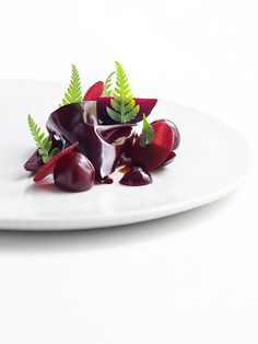 Dish by chef Ronny Emborg at Marchal, Copenhagen