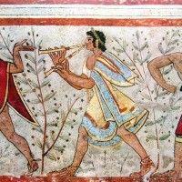 La pittura etrusca