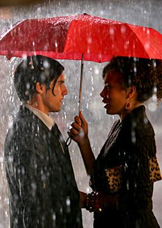 """Milo Ventimiglia as Peter Petrelli & Tawny Cypress as Simone Deveaux - Heroes """"The Red Umbrella"""" Sci Fi Series, Tv Series, Movies Showing, Movies And Tv Shows, Being Human Bbc, Hero Tv Show, Heroes Peter, Heroes Reborn, Milo Ventimiglia"""