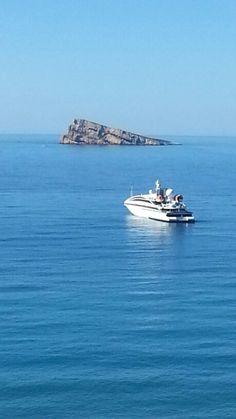 Benidorm Island, Benidorm, Alicante, Spain Самостоятельные #путешествия #авиабилеты travel.manysales.ru