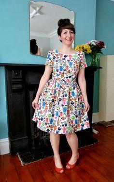A Stitching Odyssey: #sewdollyclackett Time for Tea Dress