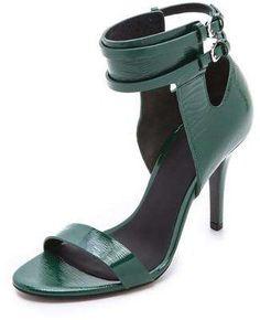 Alexander Wang Johanna Ankle Cuff Sandals / Wantering