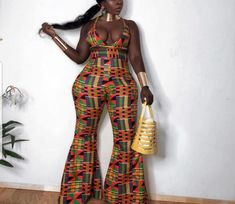 Combinaison africaine d'impression Romper combinaison de | Etsy African Print Jumpsuit, Ankara Jumpsuit, Fitted Jumpsuit, African Clothing For Men, African Dresses For Women, African Wear, African Outfits, African Print Pants, African Print Fashion
