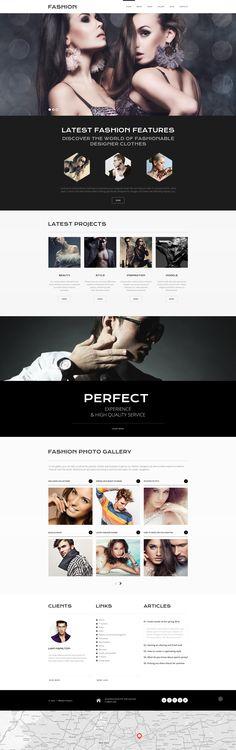 Joomla Theme , Online Fashion