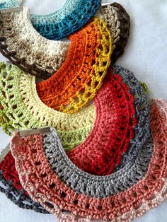Crochet Tribal Necklaces Pattern