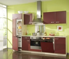 Small Modern Kitchens Cabinet Kitchen Modern Pinterest