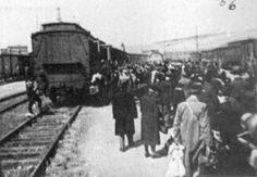 November 27, 1941, Deportation of Jews from Wuerzburg, Germany