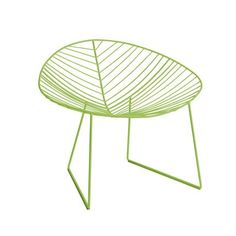 Leaf chair by Arper #homedecor #decoration #home #lime #green #chair