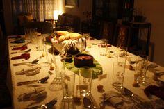 Decoracion de mesa/smicasadetodo Table Settings, Table Decorations, Recycled Materials, Mesas, Manualidades, Place Settings