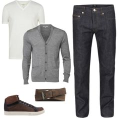 Mens Casual Wear by AricaHK on Polyvore