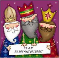 NADAL reis mags - petitmón 1 - Àlbums web de Picasa Christmas Nativity, Christmas Art, Christmas Projects, Christmas Holidays, Christmas Decorations, Christmas Ornaments, Christmas Patterns, Merry Christmas And Happy New Year, Little Christmas
