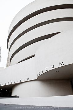 The Guggenheim Museum, NY. Constructed in 1959 yet, for me a timeless modernist building. A home to one of my favourite things; ART.