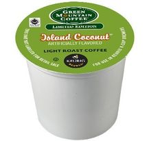 24 Count - Green Mountain Island Coconut K-Cup Coffee for Keurig Brewers ** Awesome product. Click the image : K Cups