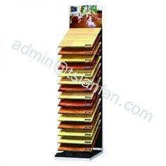 WD623 METAL HOLDER FLOOR VINYL TILE DISPLAY STAND FOR TILE SHOWROOM SHOW