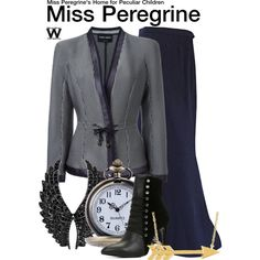 Inspired by Eva Green as Miss Peregrine in 2016's Miss Peregrine's Home for Peculiar Children