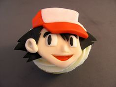 Ash Ketchum Pokemon Cupcakes by zoeycakes - For all your cake decorating… Charmander, Charizard, Pokemon Go Cakes, Cupcake Cookies, Cupcakes, Ash Ketchum, Cake Decorating Supplies, Parenting, Party Ideas