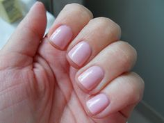 GELISH PINK SMOOTHIE - I seem to choose this color the most when I get a manicure. Even wore it for my wedding! Perfect nudey pink!