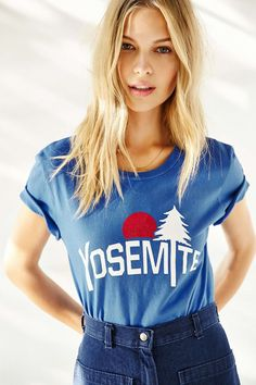 Truly Madly Deeply Yosemite Tee - Urban Outfitters