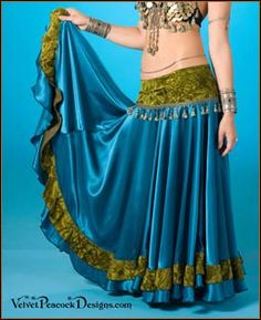 gypsy skirts - Velvet Peacock Designs: Tribal BellyDance costumes, Gypsy BellyDance Costumes, Ghawazee Coats
