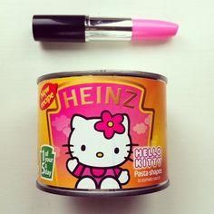 Heinz Hello Kitty Pasta Shapes