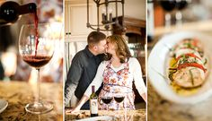 Cooking Engagement Pictures