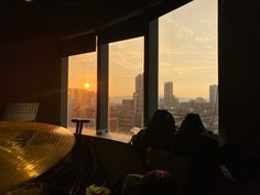 Seattle Skyline, Windows, Curtains, Travel, Home Decor, Insulated Curtains, Voyage, Homemade Home Decor, Blinds