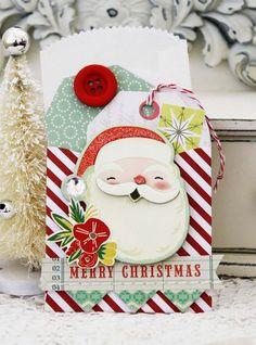 Merry Christmas gift card holders ::  Melissa Philips