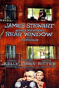 Rear Window Poster Drucken  Cm Alte Filme