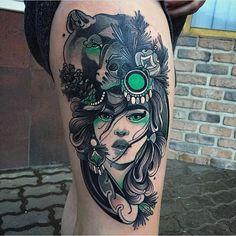 @jeanpaulmarat #neotrad #neotattoo #neotraditional #neotraditionaltattoo #neotraditionaltattoos #tattooartiste #tattoo #tattoos #tattooart #tattooartist #tattooers #tattooink #tattoopage #follow #like #tattooartwork #tattoolove #tattoodesign #design #instagram #tattoolove #tattoolife | Artist: @neotraditionaltattooers