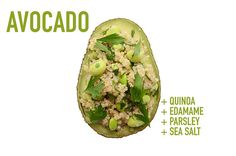 Quinoa + Edamame + Parsley + Sea Salt | 17 Impossibly Satisfying Avocado Snacks