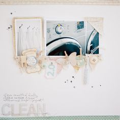 "@marcypenner: Clean. Love this layout! As soon as my laundry room is ""clean,"" I'll have to do something like this!"