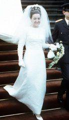 Princess Margriet of the Netherlands Royal Wedding Gowns, Royal Weddings, Vintage Weddings, Wedding Bride, Royal Brides, Blue Bloods, Parma, Bourbon, Bridal Dresses