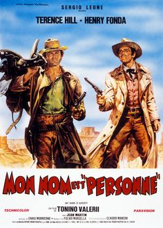 Henri fonda et terence hill Hollywood Undead, Hollywood Theme, The Hollywood Reporter, Hollywood Life, Doc Holliday, Films Western, Western Art, Movie Poster Art, Film Posters
