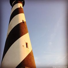Cape Hatteras Lighthouse on the Outer Banks of North Carolina. One of our favorite spots on the Banks....
